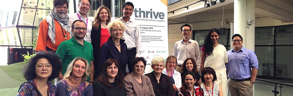 THRIVE Culture Leaders meeting, Singapore 2015